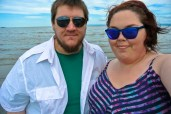 Me and Marcus at North West River beach