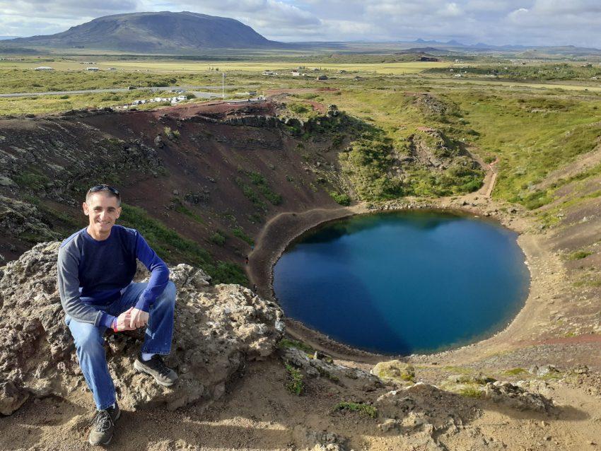 Kerid Crater Lake Iceland