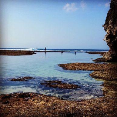 padang padang beach uluwatu, bali one month itinerary,backpacking bali solo