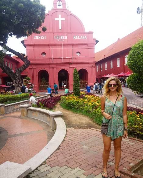 dutch square, red square, melaka malacca malaysia