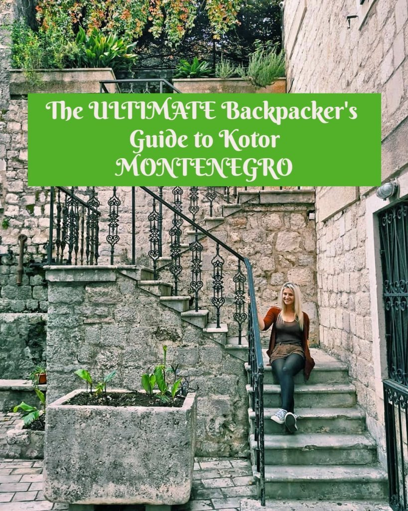 The 15 Best Things to Do in Kotor, Montenegro. I decided to put together this guide to Kotor and list of all the best things to do in Kotor so that whether your idea of a fun trip is simply sitting and watching the world go by, drinking copious amounts of local brandy or hiking up a mountain, you will be able to make the most of Kotor and fall in love with it just like I did. #kotor #montenegro