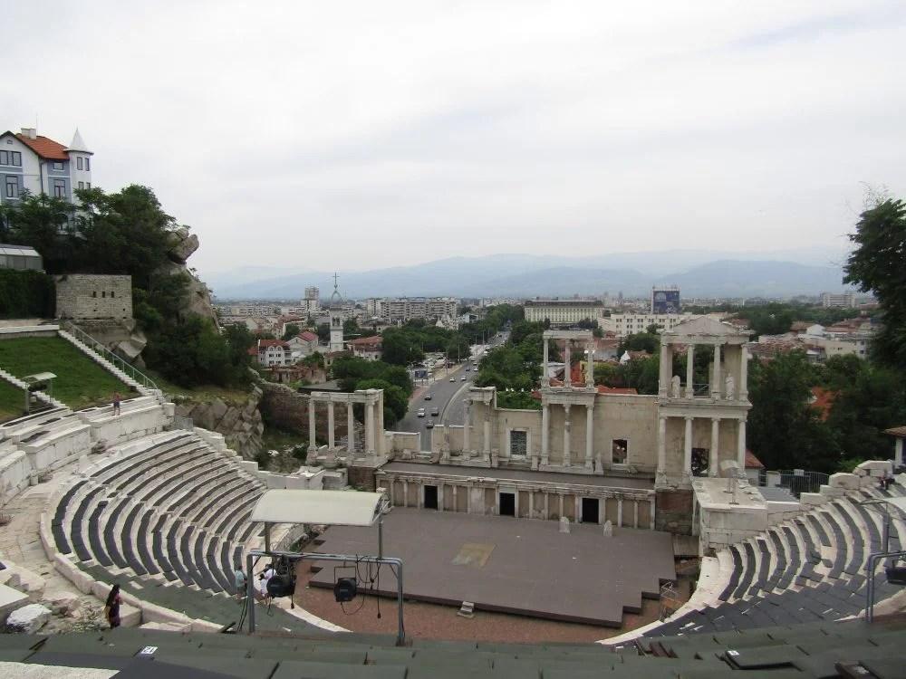 Plovdiv amphitheatre, plovdiv Bulgaria