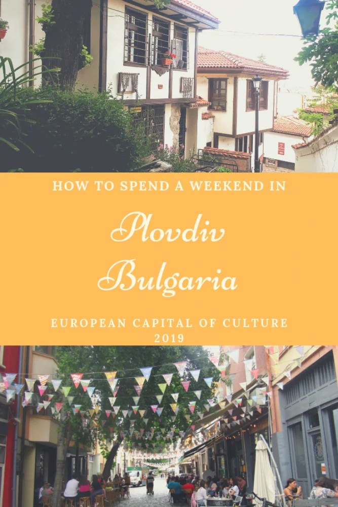 How to Enjoy Plovdiv Bulgaria - European Capital of Culture 2019 - I got a chance to explore this European Capital of Culture 2019 in a way where I learnt about the history of Plovdiv & made the most of the cafe culture in the artsy Kapana neighbourhood. I also meandered around the Old Town, befriended stray cats & photographed quirky street art, so if you want to know more about my time in Plovdiv Bulgaria and how I fell in love with this magical place then read on! #plovdiv #bulgaria #balkans