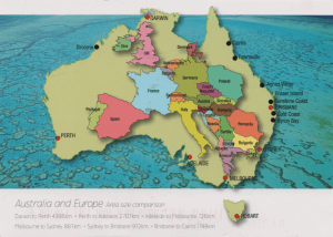 Australia and Europe