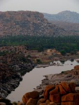 Hampi's breathtaking scenery