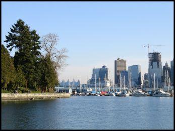 Vancouver Stanley Park city view