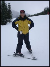 Proof that I have skied!