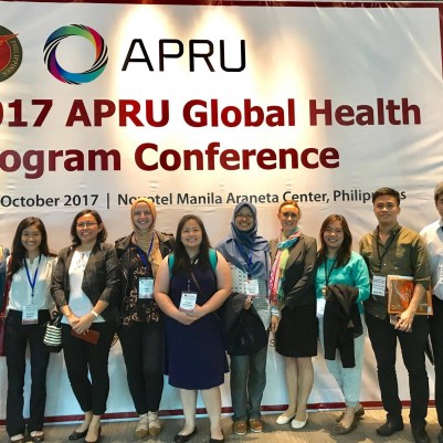 Participants of the 217 APRU Global Health Program Conference
