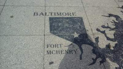 Visit Fort McHenry which defended  Baltimore from British  invasion  during the War of 1812.