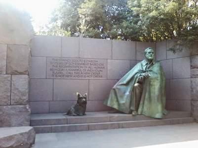 John F. Kennedy graveside