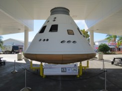 Orion capsule replica