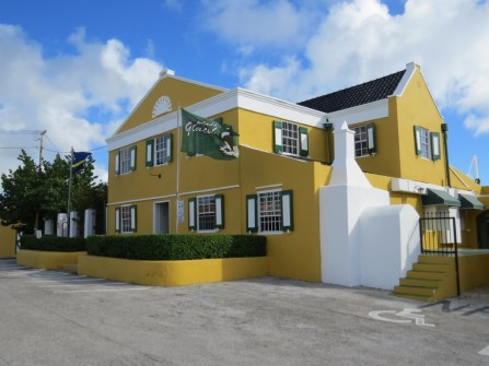 Curacao liqueur factory