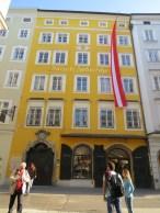 Salzburg -Mozart Birthplace