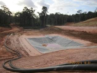 New dam