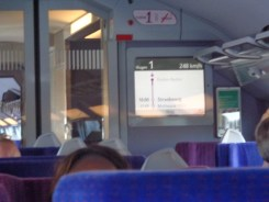 Train to Paris: 248 kmh