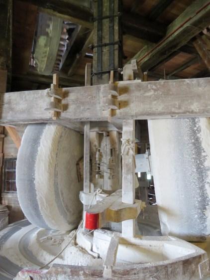 Inside a windmill