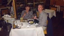 Mum's birthday dinner