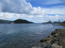 Tortola looking at St John