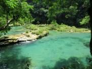 The beautiful natural pools