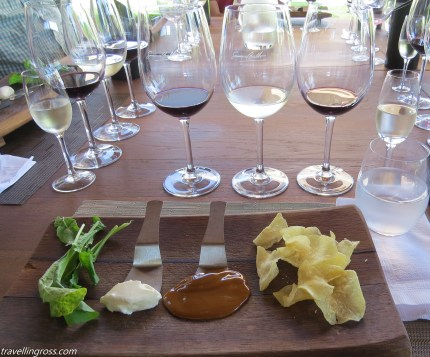 4 wines with 4 tastes