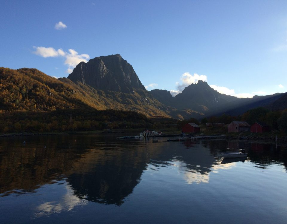 landscape Norway reflections fjords mirror image