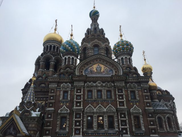 church of the saviour on the spilled blood Moscow russia sam smith travelling sam