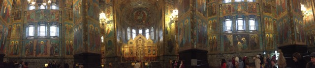 inside the church of the saviour on the spilled blood st Petersburg russia sam smith travelling sam