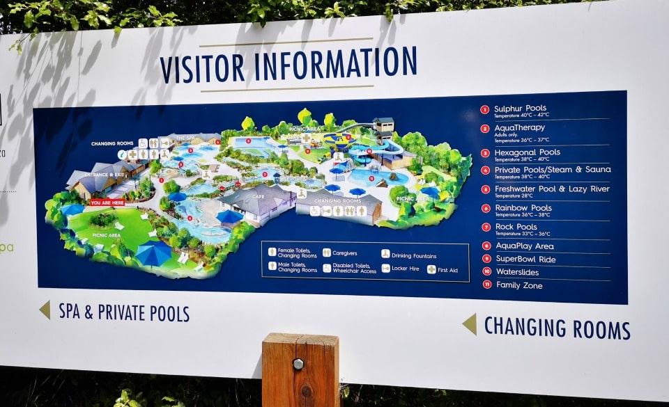 hammer springs thermal pool information map