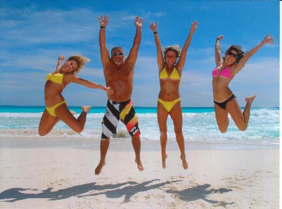 Have fun in Cancun