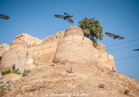 A Meandering Walk Around Jaisalmer Fort And Lake