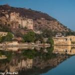 Streets of Bundi: Azure Reverie