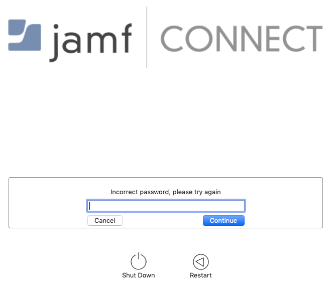 Jamf Connect and ADFS… incorrect password