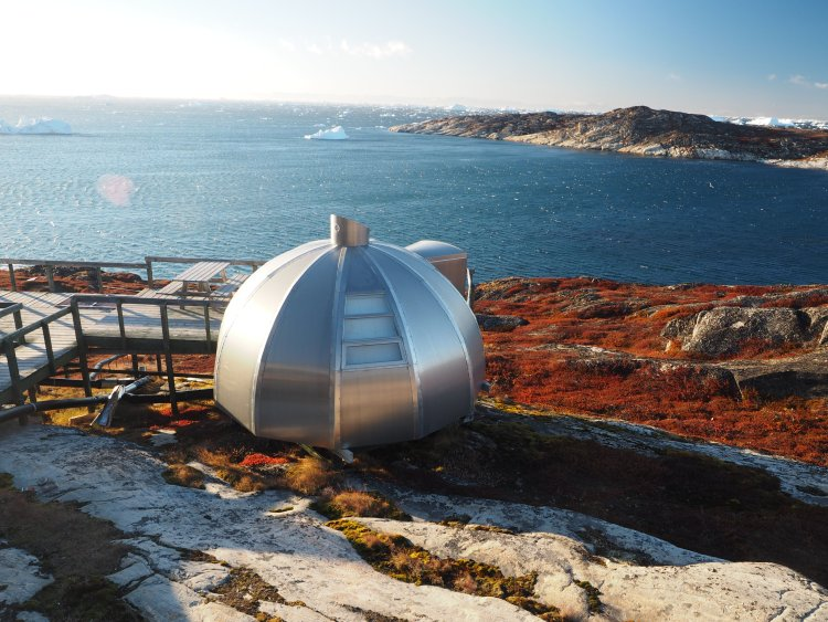 One of these other-wordly little igloos!
