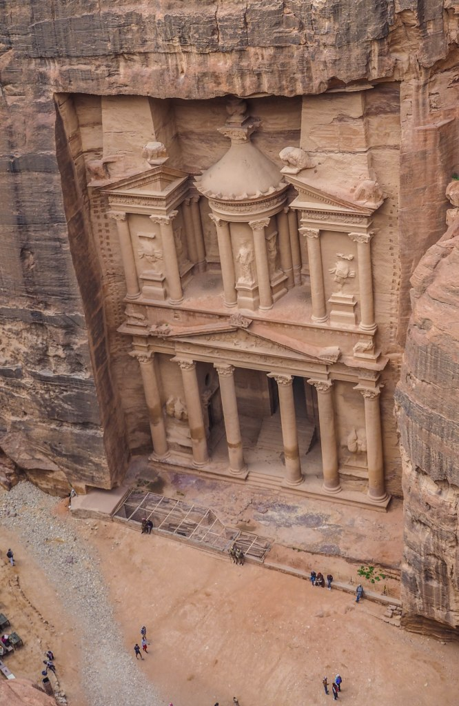 How to hike the 'Secret Trail' to above the Treasury in Petra