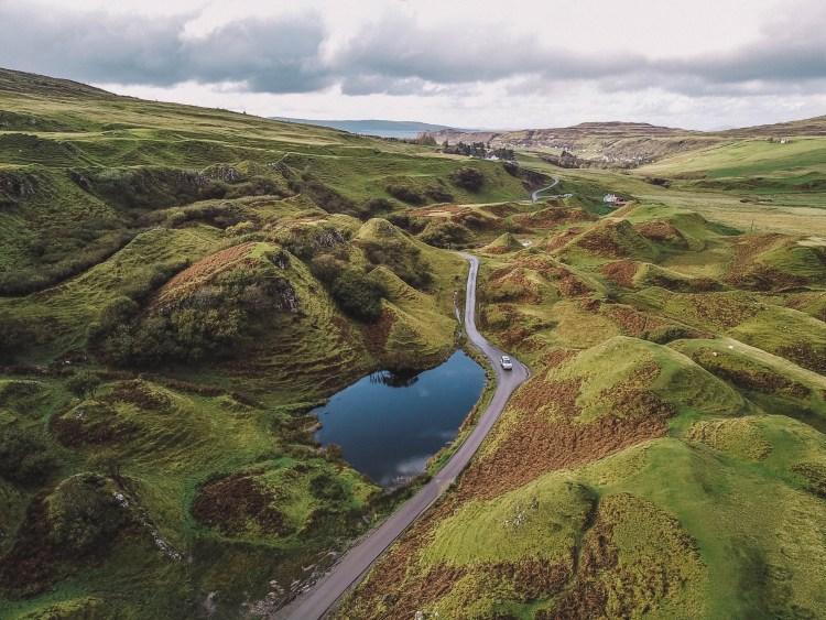 Isle of Skye Travel Blog: Fairy Glen