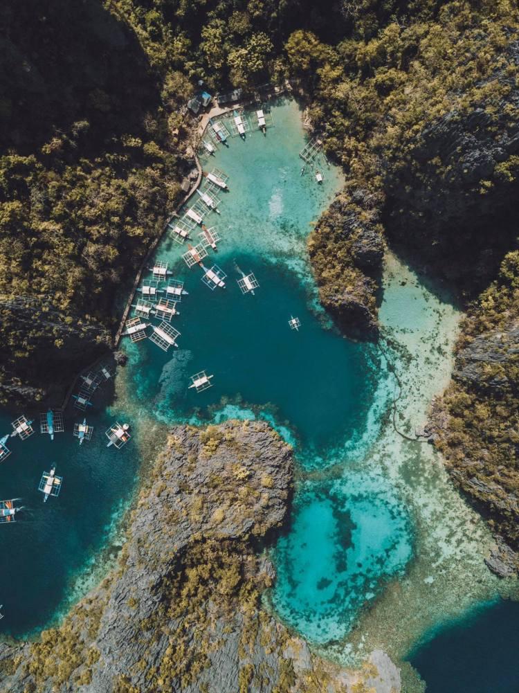 Coron-Philippines-Drone-Travel-Blog