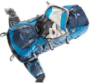 Backpack opening voor