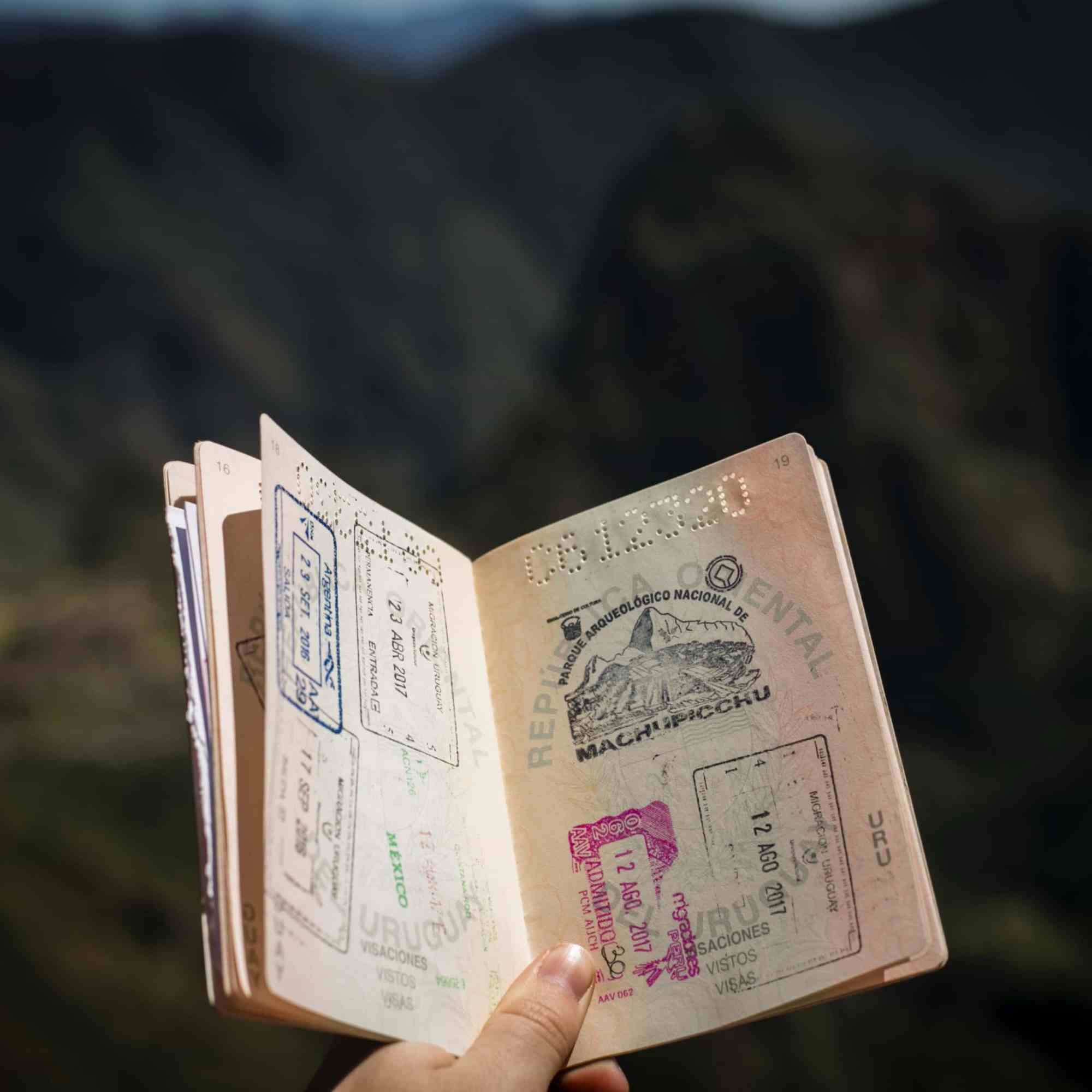 Do you have enough pages left in your passport?