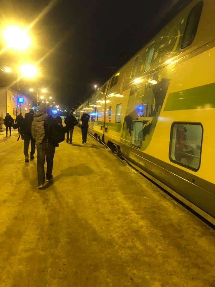 The Santa Clause Express at Rovaniemi