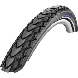 Schwalbe's Marathon Mondial tire is designed for extreme and long expeditions, and is available in a folding version.