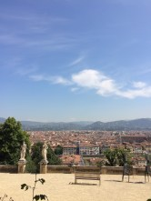The view from the Bardini Gardens