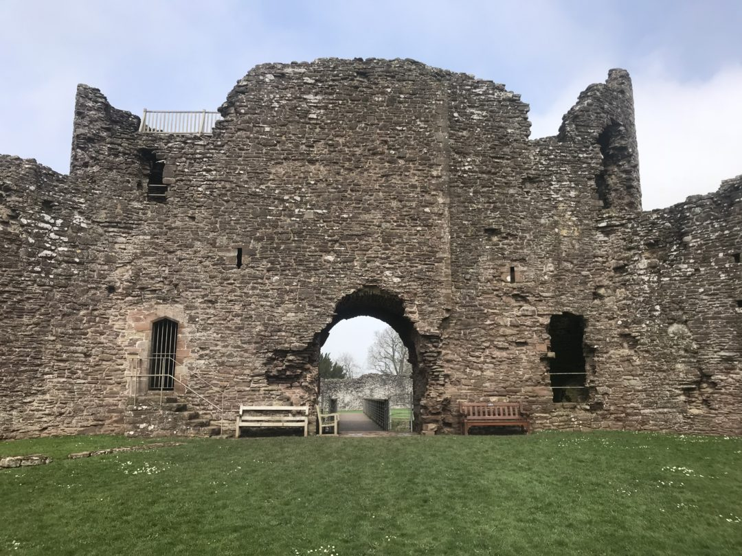 White Castle in Monmouthshire