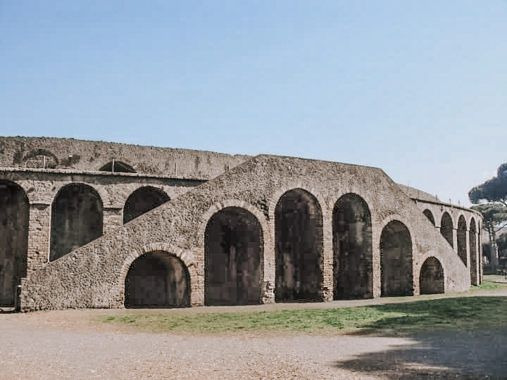 The ampitheatre at Pompeii