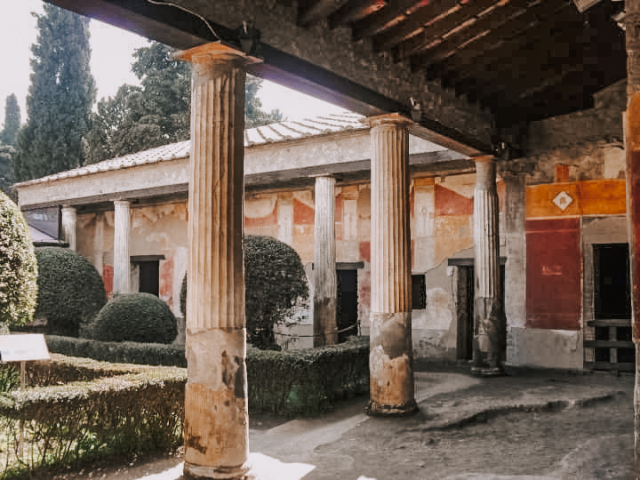 Stabian baths, Pompeii