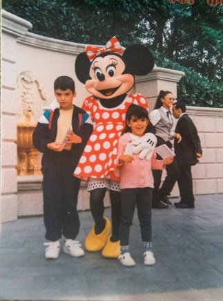 With Minnie Mouse (1996)