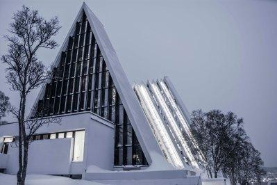 Artic church, Trompso. Norway 2013