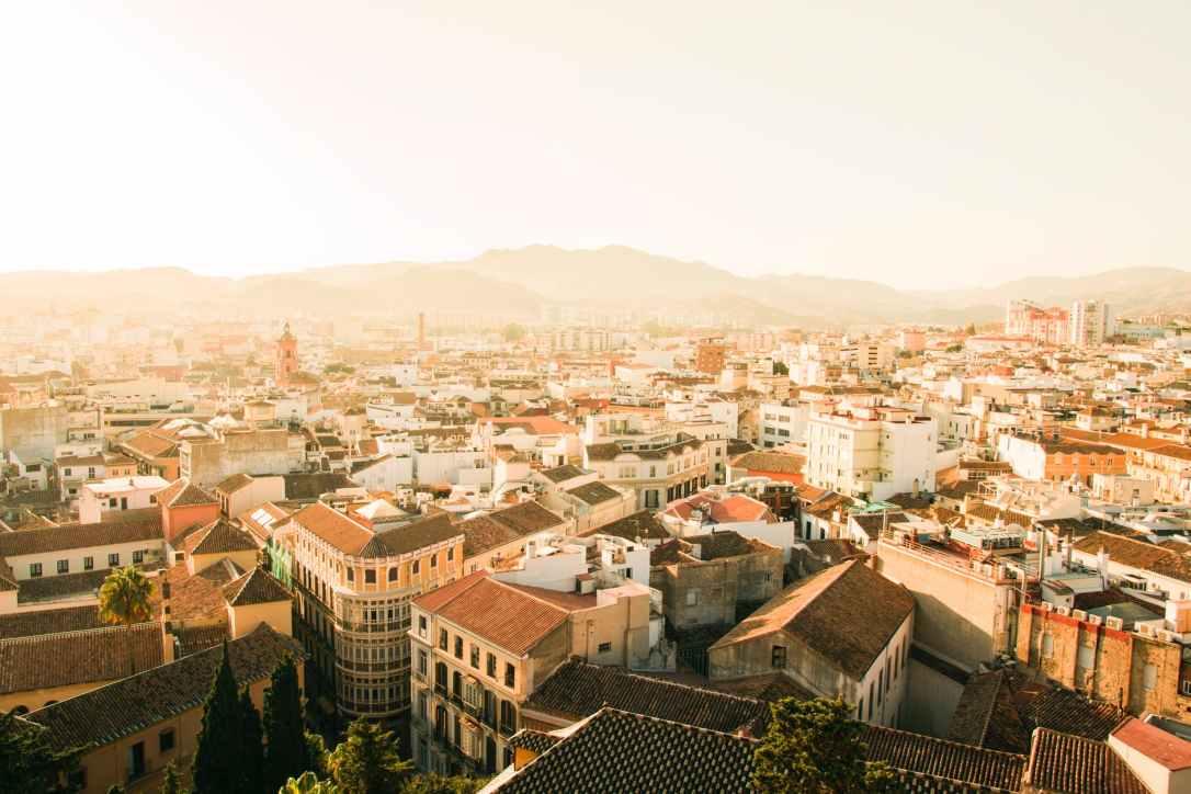city spain dense