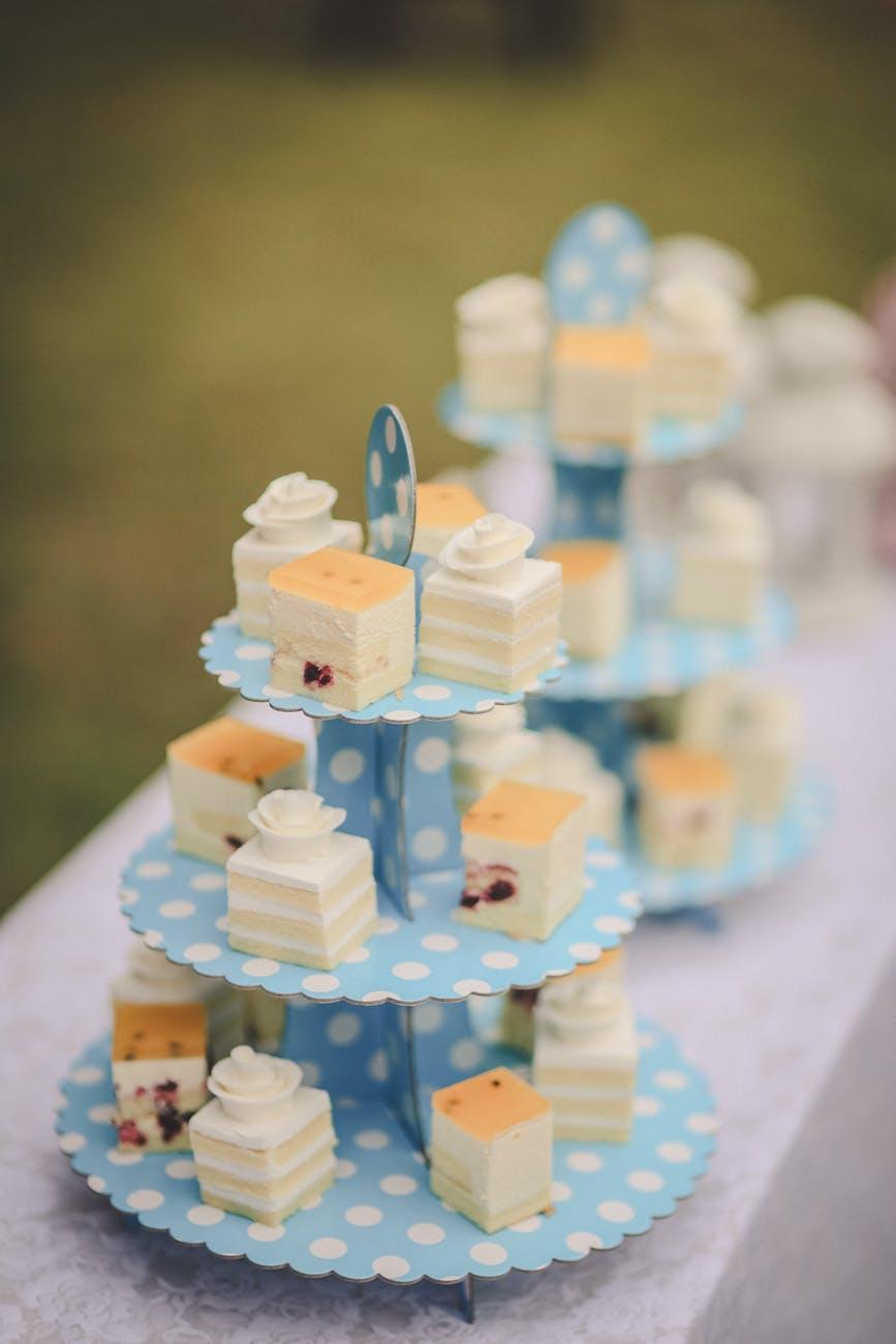 birthday blur cake celebration