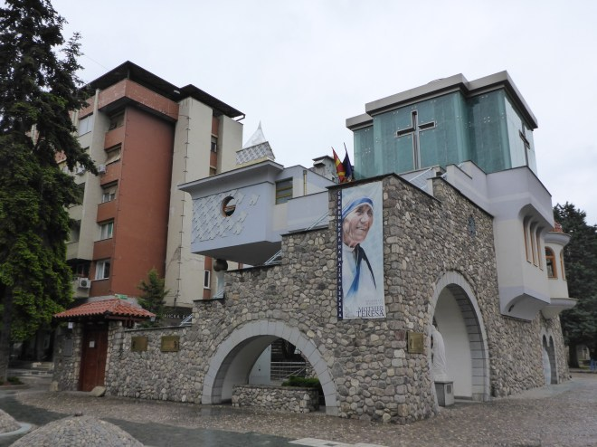 Mother Teresa's memorial house.