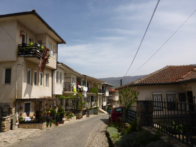 Charming street in Ohrid 2
